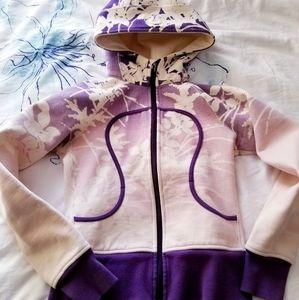 Rare Purple Ombre Lululemon Scuba Hoodie Jacket